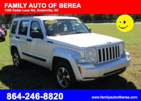 Jeep Liberty Silver color