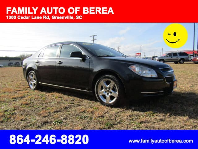 Chevrolet Greenville Sc >> Chevrolet Malibu 2010 Greenville Sc Family Auto Of Berea