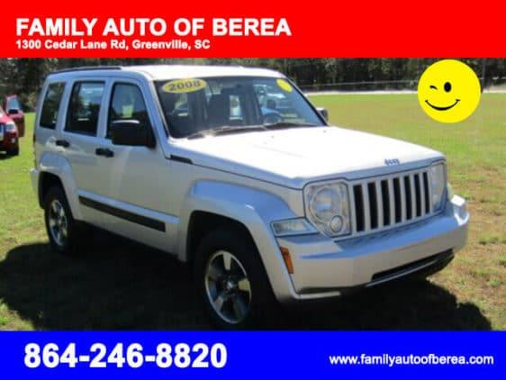Jeep Liberty Silver color