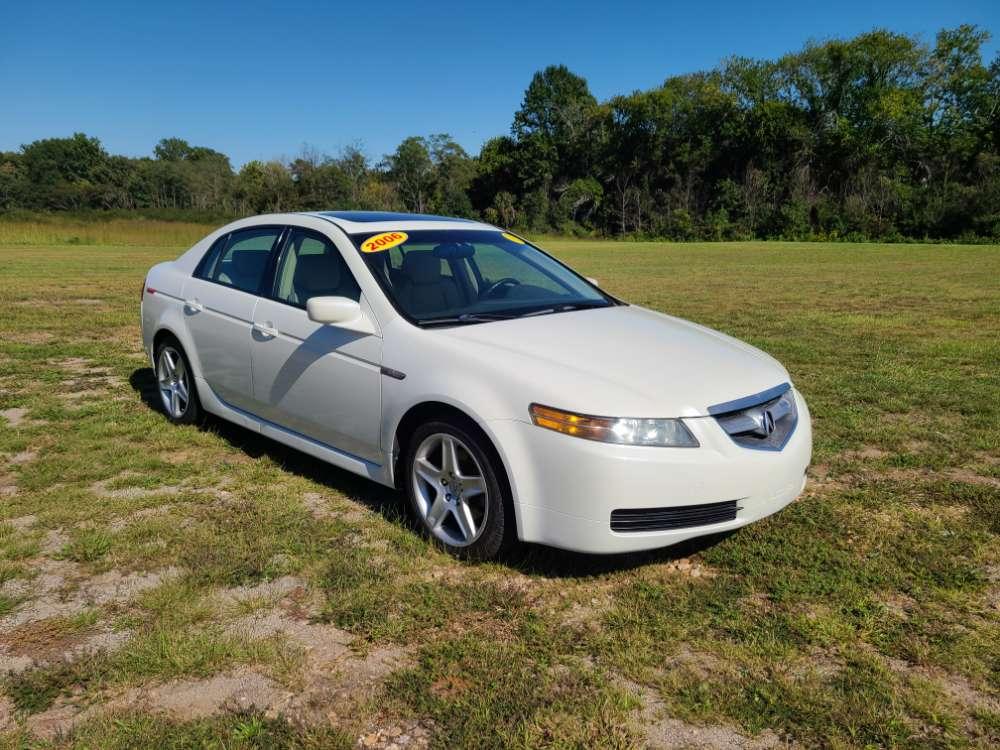 Acura TL 2006 White