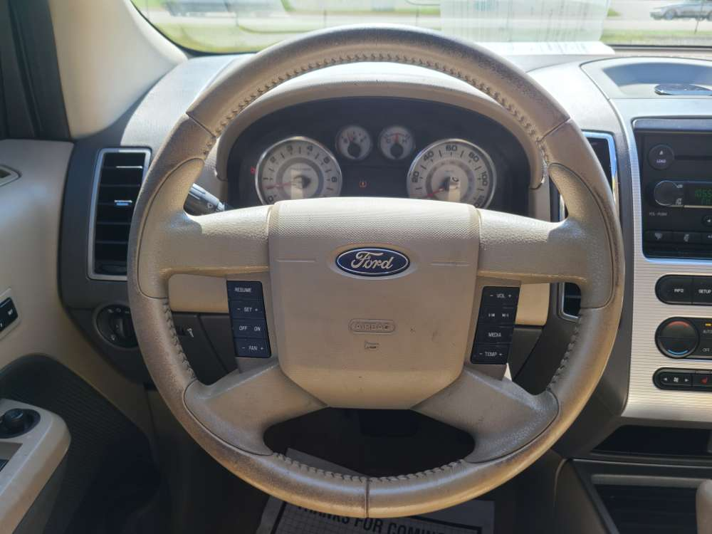 Ford Edge 2008 Red