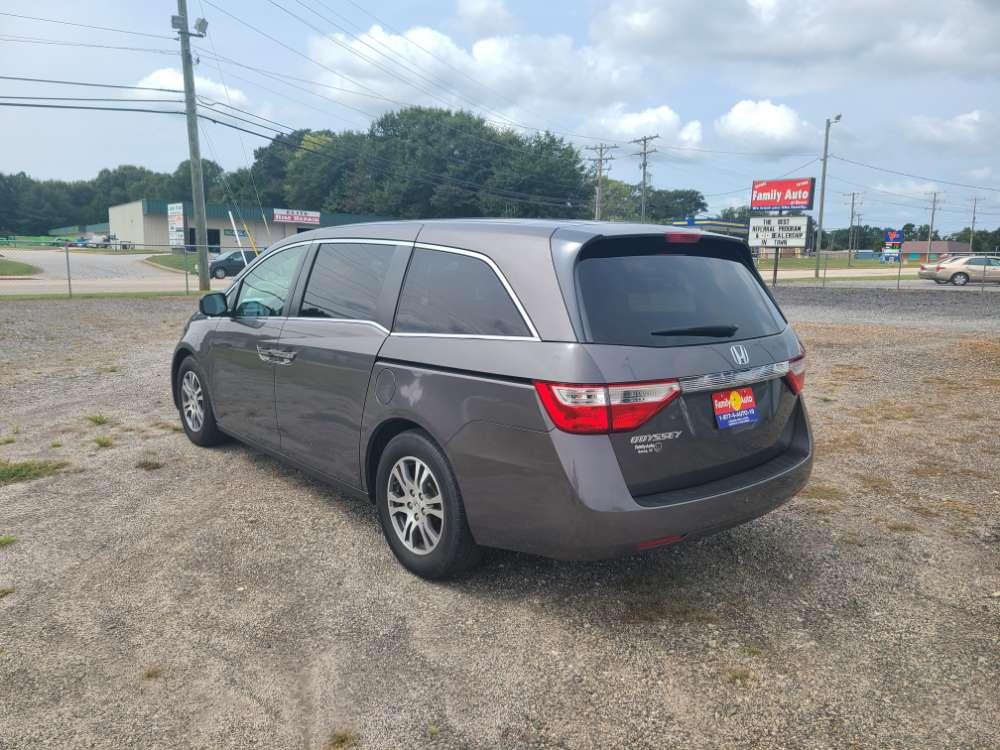Honda Odyssey 2012 Gray