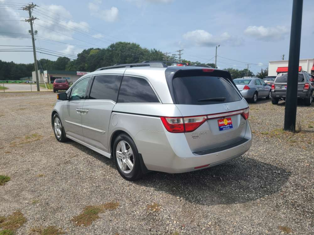 Honda Odyssey 2012 Silver