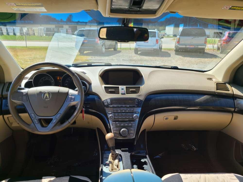 Acura MDX 2009 White
