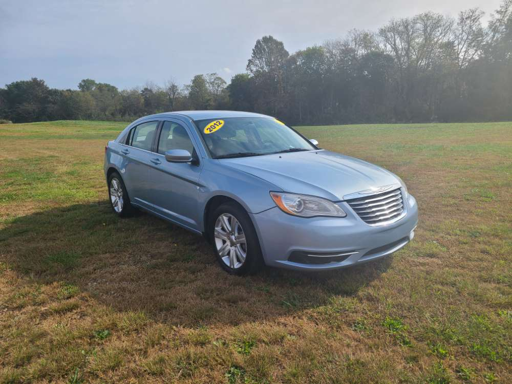 Chrysler 200 2012 Light Blue