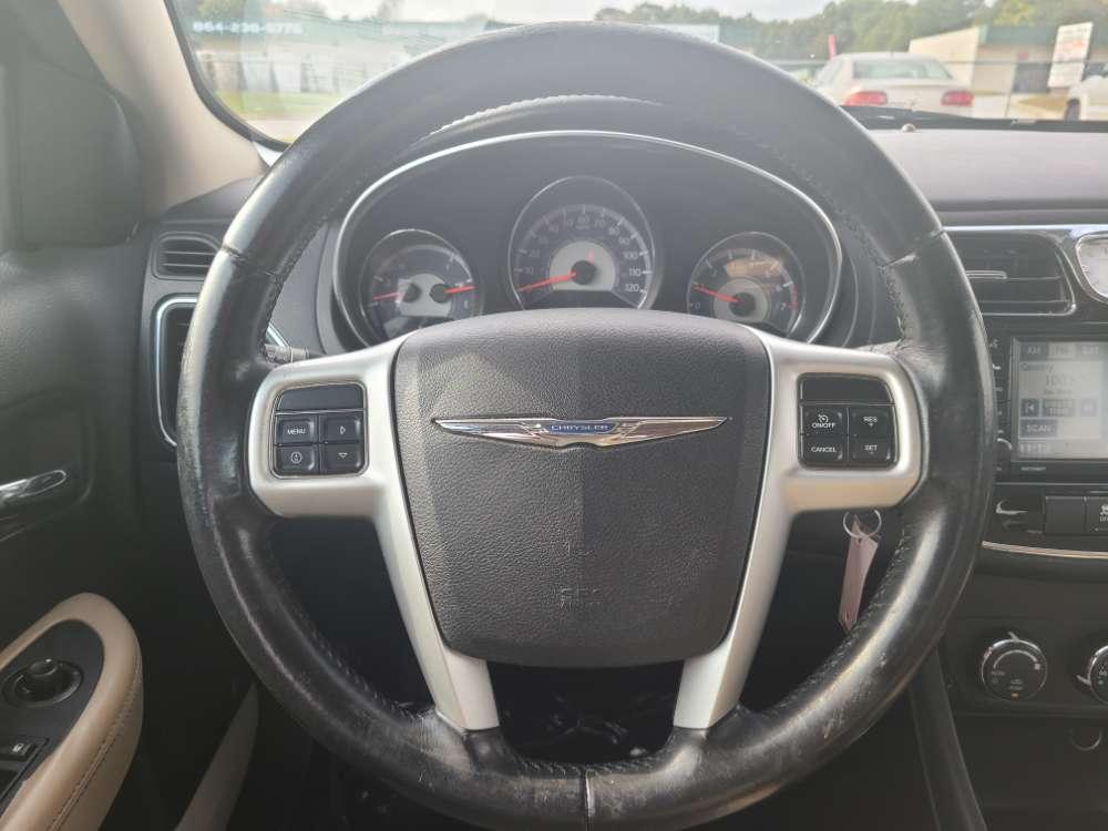 Chrysler 200 2012 Light Blue