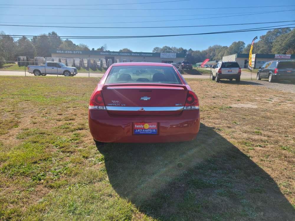 Chevrolet Impala 2009 Red