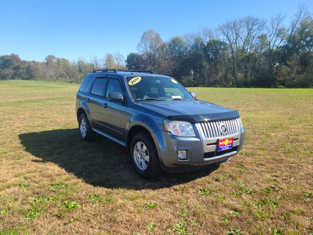 Mercury Mariner 2011 Blue