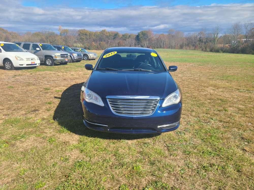 Chrysler 200 2013 Blue