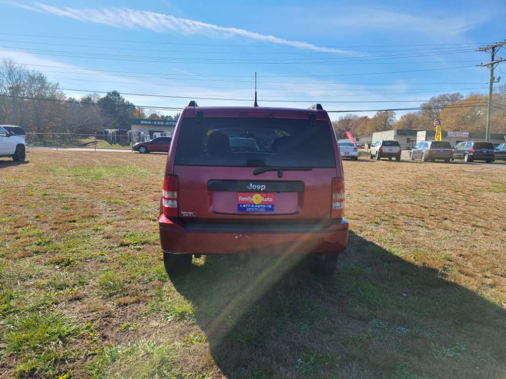 Jeep Liberty 2011 Red