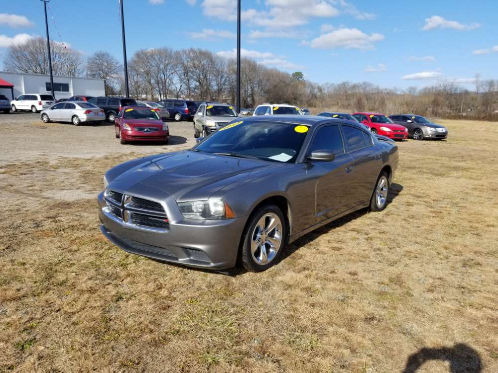 Dodge Charger 2012 Gray
