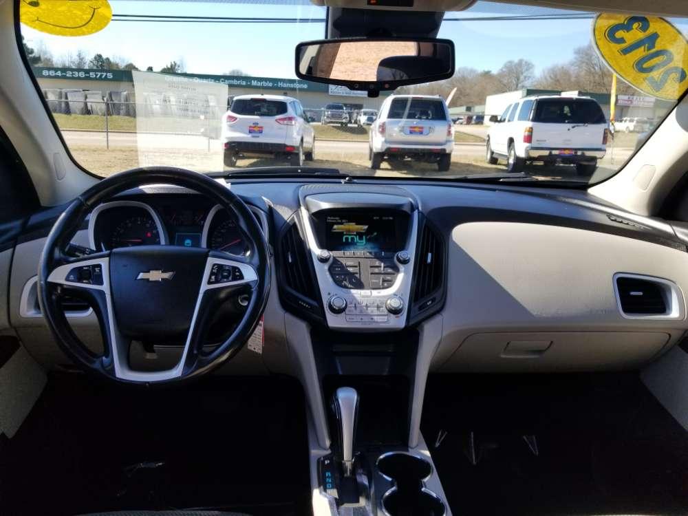Chevrolet Equinox 2013 Silver