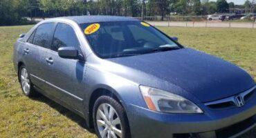 Honda Accord 2007 Blue