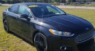 Ford Fusion 2013 Black