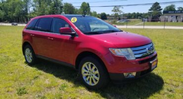 Ford Edge 2010 Red
