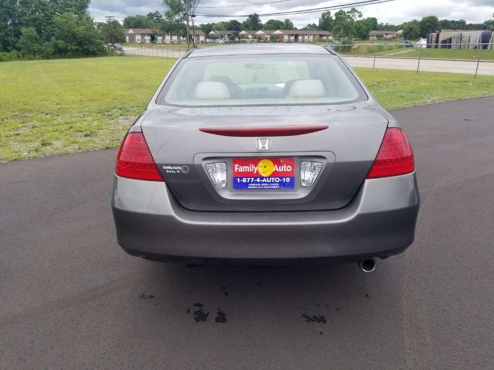Honda Accord 2007 Gray