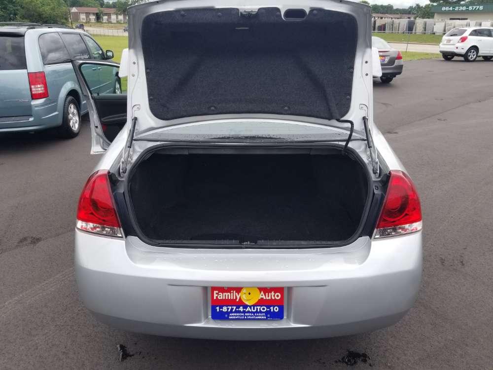 Chevrolet Impala 2011 Silver