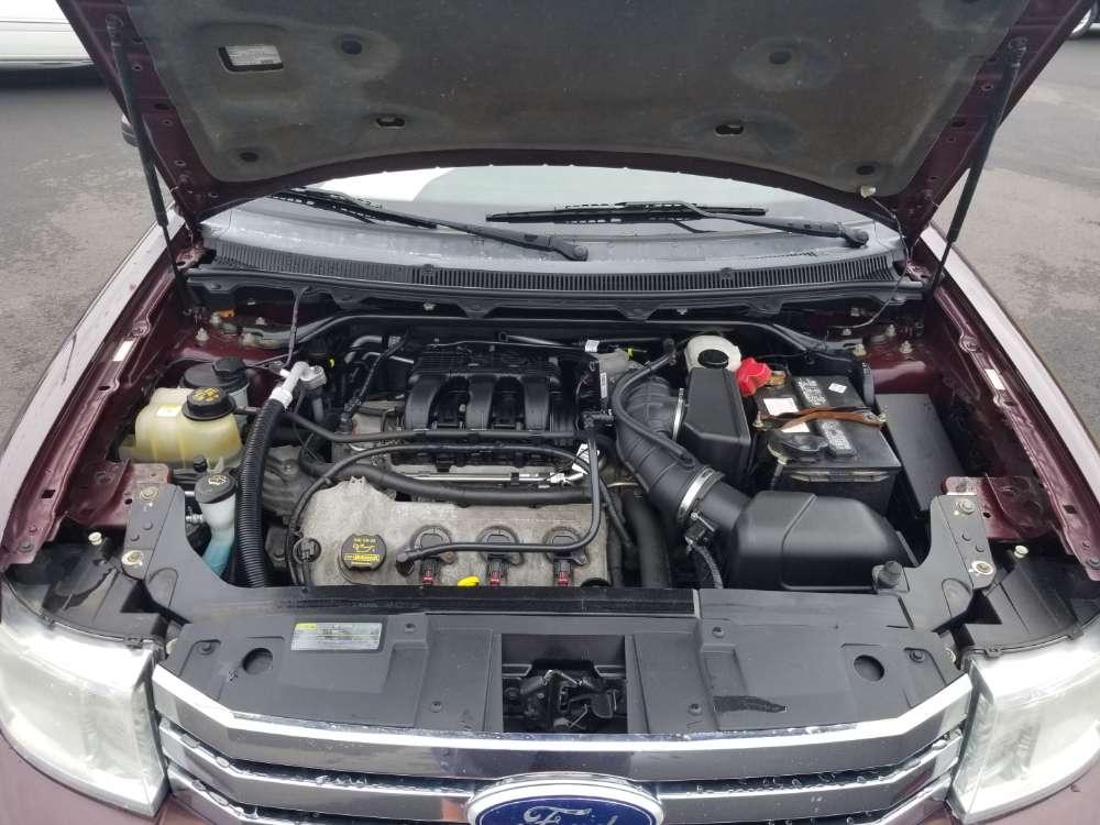 Ford Flex 2011 Burgundy
