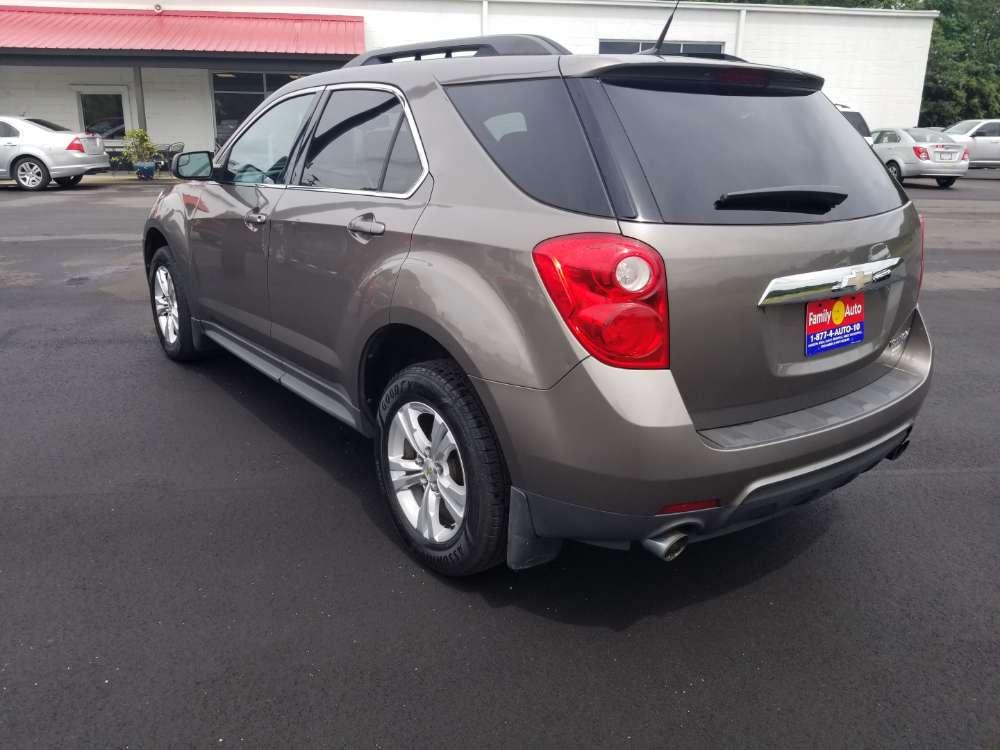 Chevrolet Equinox 2012 Gray