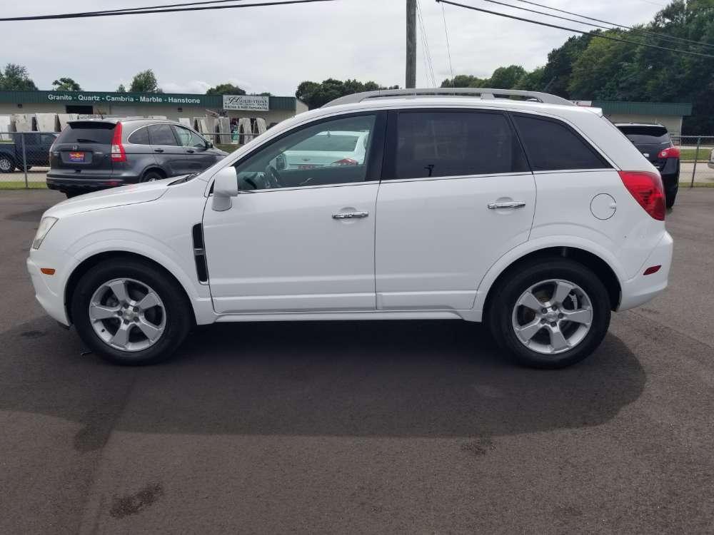Chevrolet Captiva Sport 2014 White
